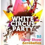 HOTEL H10 LAS PALMERAS. WHITE CIRCUS PARTY