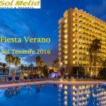 HOTEL SOL TENERIFE. BIENVENIDA AL VERANO 2016