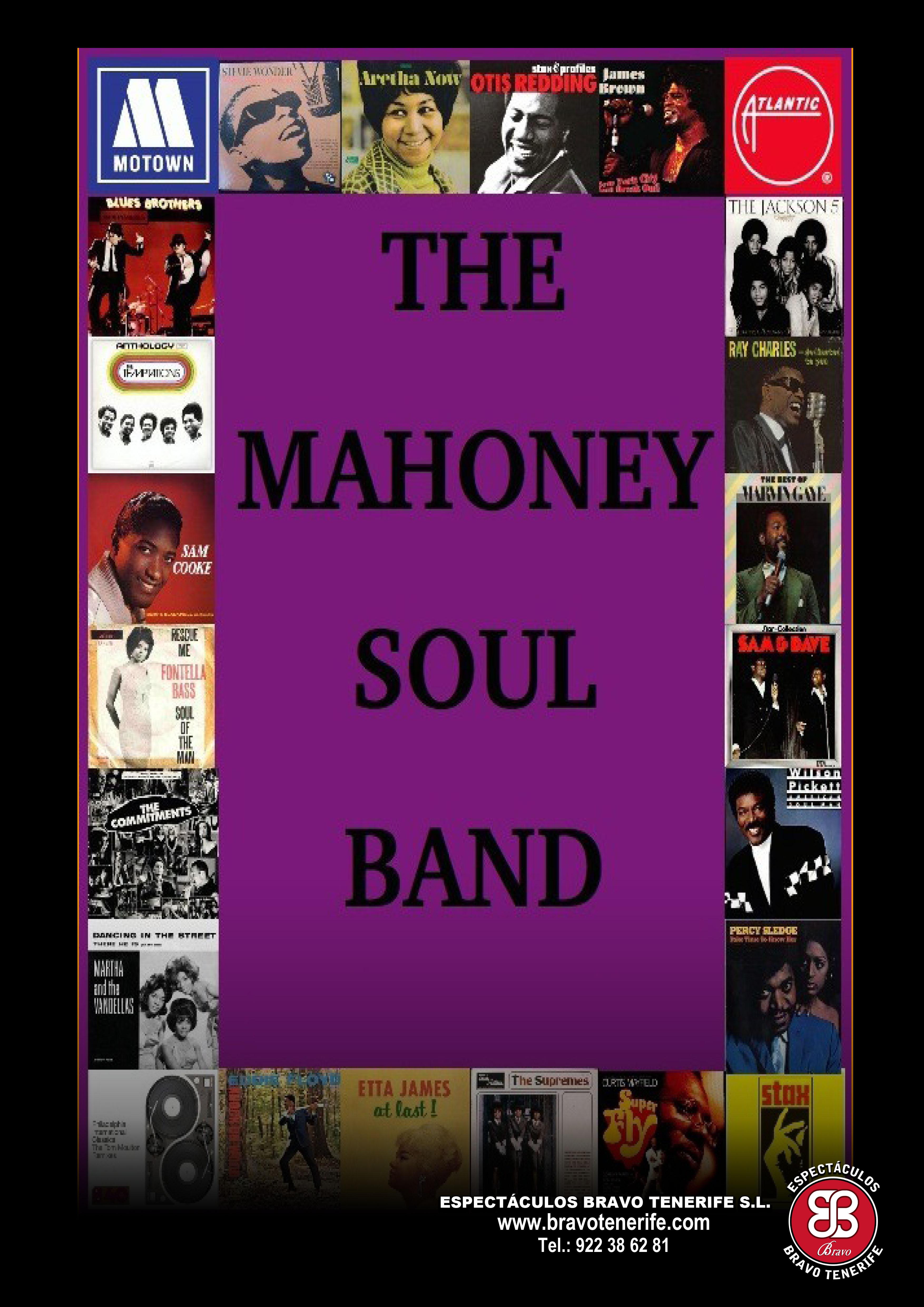 Mahoney Soul band Bravo